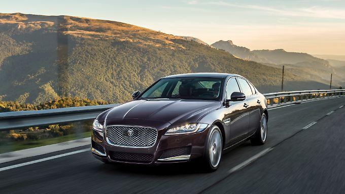 Nur der Namensgeber ist schneller: Jaguar XF macht Rennstrecke unsicher