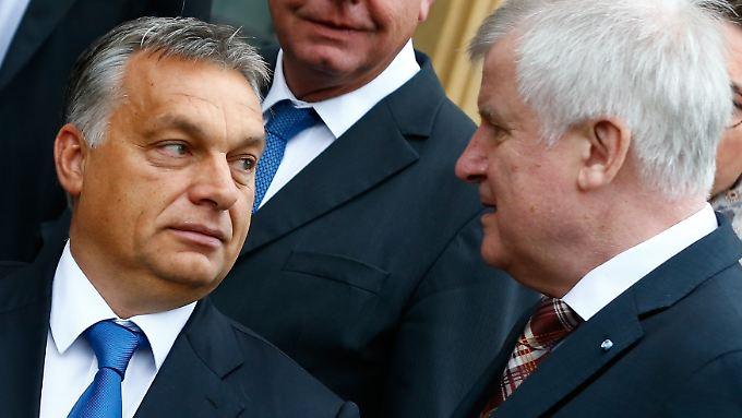 Die ungarisch-bayerische Achse läuft wie geschmiert.