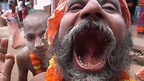 """""""Kumbh Mela"""" in Indien: Wenn die Sadhus aus ihren Höhlen kommen"""