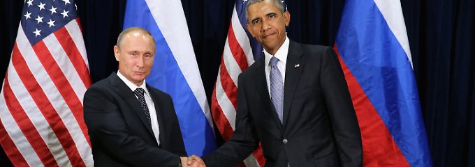 Treffen mit Obama: Putin erwägt Luftangriffe gegen IS