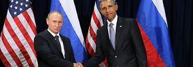 """""""Überraschend offene Diskussion"""": Putin und Obama wollen IS bekämpfen"""