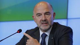 Nicht Moscovicis Ding: Widerspruch aus Osteuropa.