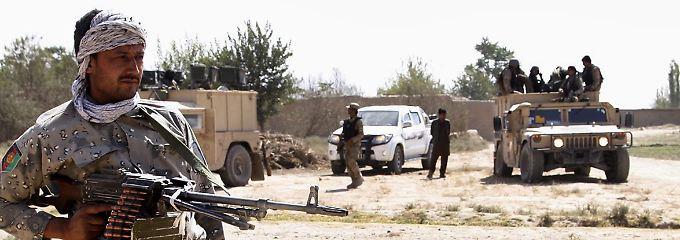 Die afghanische Armee versucht, Kundus zurückzuerobern.