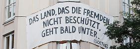"""""""Wir sind am Limit"""": Deutschland streitet über Flüchtlings-Frage"""