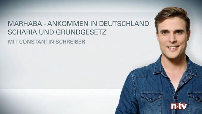 Arabisch mit arabischen Untertiteln: الشريعة والقانون الأساسي في ألمانيا
