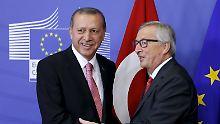 Gipfeltreffen in Warna: EU will wieder mit Erdogan lächeln