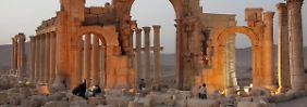 """""""Absolute Lüge"""": Moskau dementiert Angriffe auf Palmyra"""