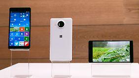 Die beiden Lumia-Modelle sind die neuen Flagschiffe von Microsoft.
