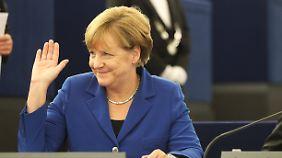 """""""Ja, wir schaffen das"""": Merkel unterstreicht ihre Politik der offenen Grenzen"""