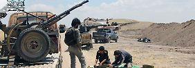 Teuer und ineffektiv: USA stoppen Rebellen-Ausbildung