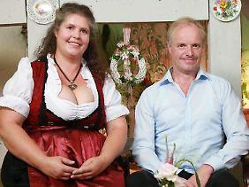 """Bei """"Bauer sucht Frau"""" kam Norbert mit Petra zusammen."""