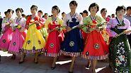 Fest der Superlative: Nordkorea feiert 70 Jahre Arbeiterpartei