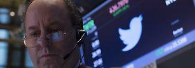 Aktie auf Talfahrt: Twitter enttäuscht Anleger