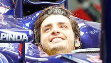 Carlos Sainz wird trotz des verpassten Qualifiyings in Sotschi an den Start gehen.