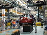 Produktion im VW-Werk in Foshan.