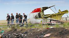 Erste Erkenntnisse der Ermittler: Russische Rakete schoss Flug MH17 ab