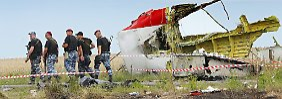Die Absturzstelle von Flug MH17 war für internationale Ermittler lange nicht zugänglich.