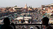 Wer sich im Sommer einmal Marrakesch ansehen will, der kann sich das Angebot von FTI ansehen. Der Veranstalter baut sein Marokko-Programm aus. Foto: Stefan Weißenborn