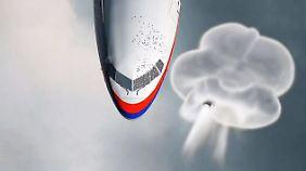 Aus Rebellengebiet abgeschossen: Buk-Rakete explodierte direkt neben MH17-Cockpit
