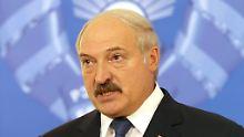 Alexander Lukaschenko ist seit 1994 weißrussischer Präsident.