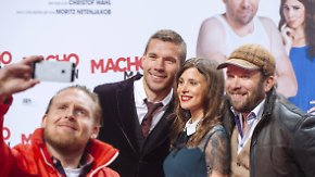 """Ein echter """"Macho Man""""?: Lukas Podolski feiert Filmdebüt"""