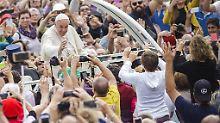 Konservative laufen in Rom Sturm: Dieser Papst, er gefällt zu sehr