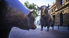 Börsenkorrektur: Psyche ist schuld: Strukturell spricht alles für Aktien