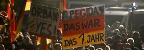 Ausschreitungen in Dresden: Pegida macht aggressiv Stimmung gegen Flüchtlinge