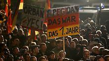 Bevölkerung soll dagegenhalten: Gabriel: Pegida ist in Teilen rechtsradikal