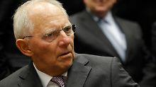 Person der Woche: Wolfgang Schäuble: Übernimmt er als Übergangskanzler?
