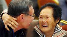 Freudentränen an der Grenze: Wenn Nord- und Südkorea aufeinandertreffen