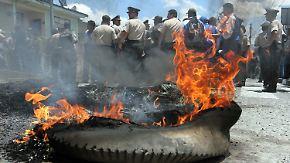 Dramatische Momente in Ecuador: Polizei meutert gegen Präsidenten