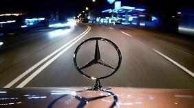 """""""Glück des Zuspätgekommenen"""": Daimler bleibt ungebremst auf der Erfolgsspur"""