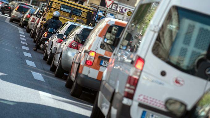 In Deutschland gibt es rund 7000 Todesfälle pro Jahr durch Abgase aus dem Straßenverkehr.