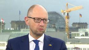 """n-tv Interview mit Janzenjuk: """"Sind einziges Land Europas, das mit Russland kämpft"""""""