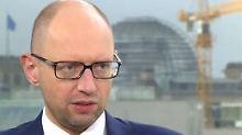 """Arsenij Jazenjuk bei n-tv: """"Putin will mit Flüchtlingen die EU spalten"""""""
