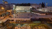 Zugang zum Tempelberg: Israel entfernt umstrittene Metalldetektoren
