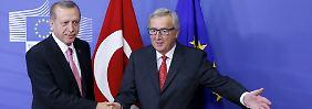 Bericht wird zurückgehalten: EU verschweigt Kritik an der Türkei
