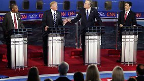 US-Präsidentschaftswahlkampf: Die aussichtsreichsten Kandidaten der US-Republikaner