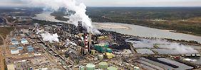 In Kanada gibt es ein riesiges Ölsand-Vorkommen: Die Förderung ist für Shell aber zu teuer.