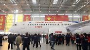 Konkurrenz für Boeing und Airbus: China präsentiert die C919