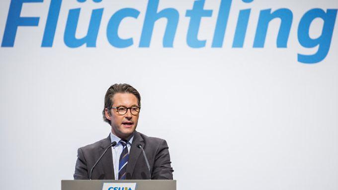 Andreas Scheuer will kriminelle Flüchtlinge rasch loswerden.