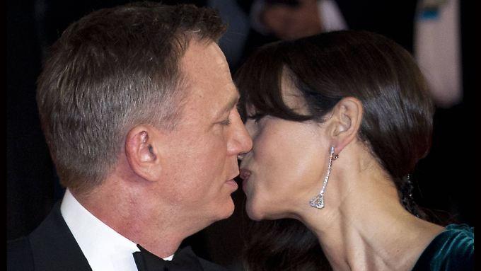 Ein Traumpaar: Daniel Craig und Monica Bellucci.
