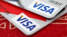 Geldregen für Banken: Visa packt Milliarden aus