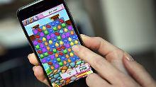 Candy Crush ist eines der beliebtesten Spiele für das Smartphone.