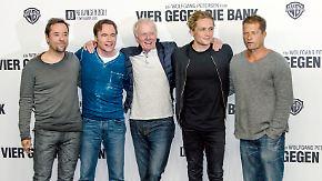 """""""Vier gegen die Bank""""-Remake: Wolfgang Petersen dreht mit deutscher Starriege"""