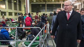 Flüchtlingskoordinator Altmaier ist zuversichtlich, dass sich die große Koalition bald auf eine gemeinsame Haltung zur Flüchtlingspolitik einigen kann.
