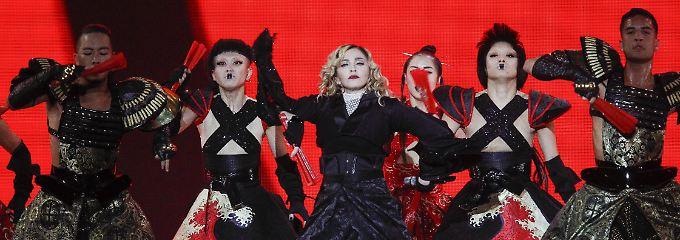Madonna ist derzeit auf großer Tour - hier im Oktober in San Diego.