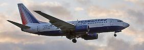 Boeing 737 von Transaero.