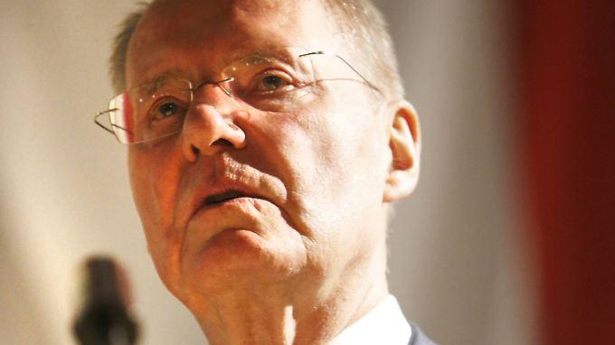Hans-Olaf Henkel - inzwischen ist er aus der AfD ausgetreten.